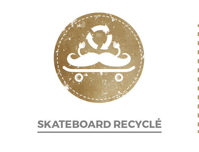 Skateboard recycle